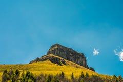 Inselberg in de Ecuatoriaanse Andes Stock Fotografie