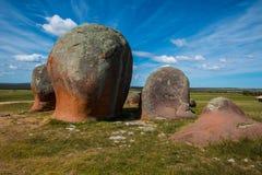 Inselberg do granito Imagem de Stock