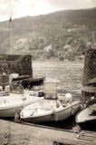 Inseldock der Fischer Lizenzfreies Stockfoto