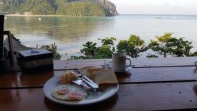 Inselfrühstück stockfotos