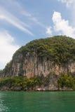 Inselklippe Stockfoto