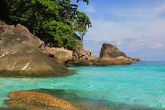 Insellandschaft stockbilder