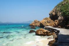 Inseln in Andaman-Meer, Thailand Lizenzfreies Stockfoto