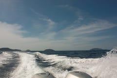 Inseln des Golfs von Thailand Lizenzfreies Stockfoto