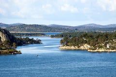 Inseln im adriatischen Meer Lizenzfreie Stockfotos