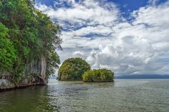 Inseln im Atlantik lizenzfreies stockfoto