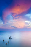 Inseln im Meer Stockfotografie