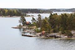 Inseln im Nordmeer Lizenzfreie Stockfotos