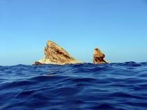Inseln im Siam-Golf Lizenzfreies Stockfoto