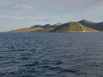 Inseln und Meer Stockfotos