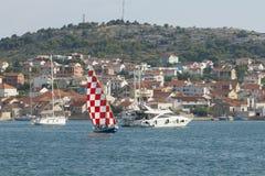 Inseln von Kroatien Stockfotos