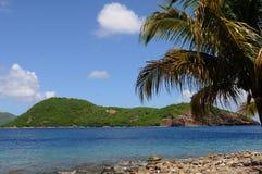 Inseln von Les Saintes stockfoto