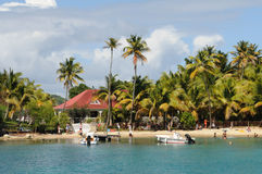Inseln von Les Saintes lizenzfreie stockfotografie