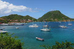 Inseln von Les Saintes lizenzfreies stockbild