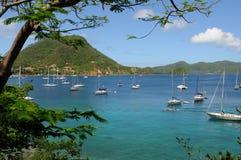 Inseln von Les Saintes lizenzfreies stockfoto