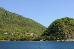 Inseln von Les Saintes stockfotografie