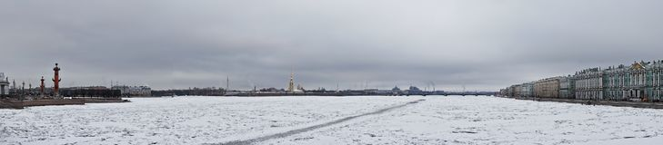 Inseln von St- Petersburgpanorama stockbild