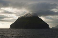 Inselskyline Stockfoto