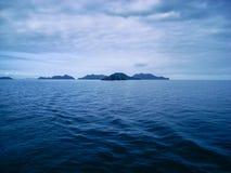 Inselweg puerto La cruz - Margarita lizenzfreies stockbild