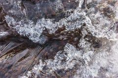 Insenatura congelata Immagine Stock
