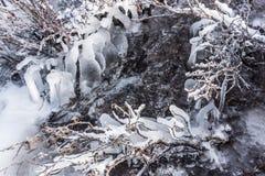 Insenatura congelata Fotografia Stock Libera da Diritti