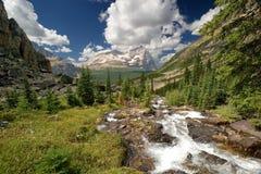 Insenatura della montagna fotografie stock libere da diritti
