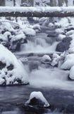 Insenatura della montagna in inverno Fotografia Stock Libera da Diritti