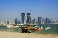 Insenatura della Sharjah immagini stock