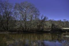 Insenatura di Brandywine a Wilmington, Delaware immagini stock