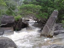 Insenatura di Davies, Queensland del nord Immagini Stock