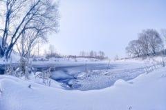 Insenatura di inverno Immagine Stock