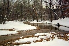 Insenatura di Snowy fotografie stock