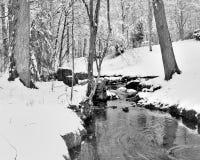 Insenatura di Snowy fotografia stock