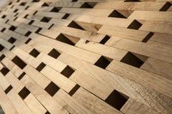 Inserction de madera Imagen de archivo libre de regalías
