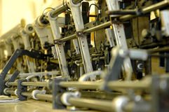 Inserter-Maschine Lizenzfreies Stockfoto