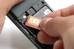 Free Inserting A Sim Card Stock Photos - 20652793
