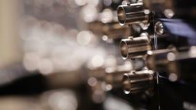 Insertion du câble visuel composant de RVB à l'enregistreur banque de vidéos