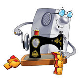 Insertion    memory computer user program Stock Photo