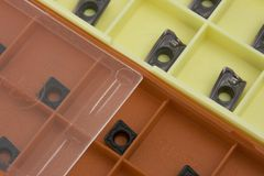 Inserts in boxes Stock Photography