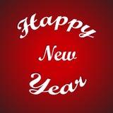 Inseto 2015, bandeira, cartaz ou convite da celebração do ano novo feliz com texto à moda em flocos de neve Ilustração do vetor Foto de Stock