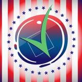 Inseto da campanha eleitoral Foto de Stock