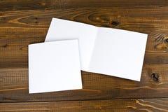 Inseto de papel de dobramento branco do banco Fotografia de Stock
