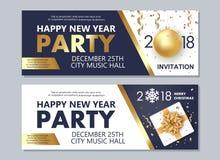 Inseto do ano novo feliz 2018 e do Feliz Natal ilustração royalty free