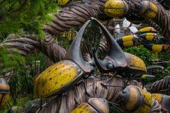 Insetos do jardim Foto de Stock