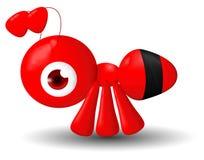 Insetti delle formiche della maglia di pendenza Immagine Stock
