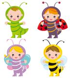 insetti divertenti Fotografia Stock