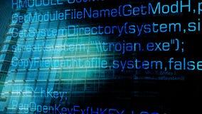 Insetto trojan del computer ed attacchi cyber futuri illustrazione vettoriale
