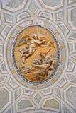 Insida av det Vatican museet. Royaltyfri Bild