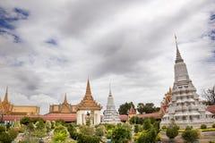 Kunglig slott. Phnom Penh Royaltyfri Bild