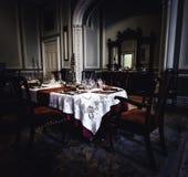 Insidan av den Kylemore abbotskloster royaltyfri foto